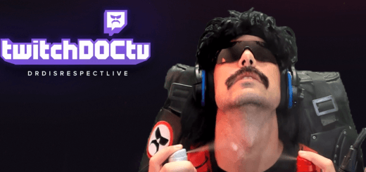 Dr Disrespect Spraying Old Spice