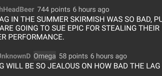 Fornite Skirmish Lag Like PUBG
