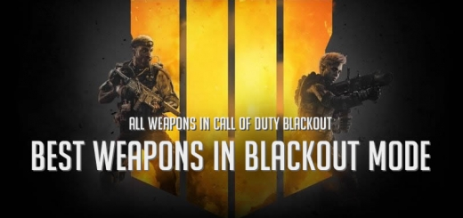 Best Weapons in Call of Duty Blackout