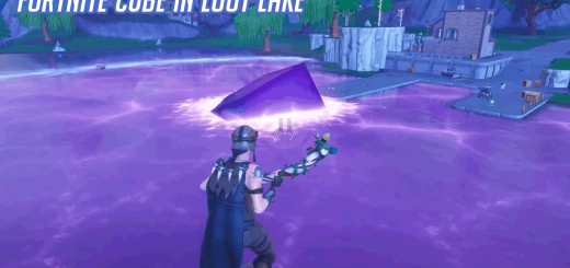 Fortnite Loot Lake After Cube