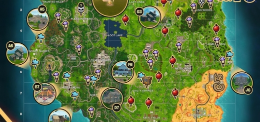 Fortnite Season 5 Week 10 Challenges