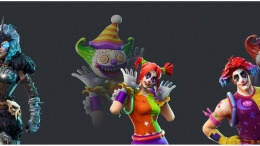 Fortnite Season 6 Leaked Skins (Clowns)
