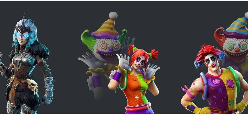Fortnite Season 6 Leaked Skins (Clowns)