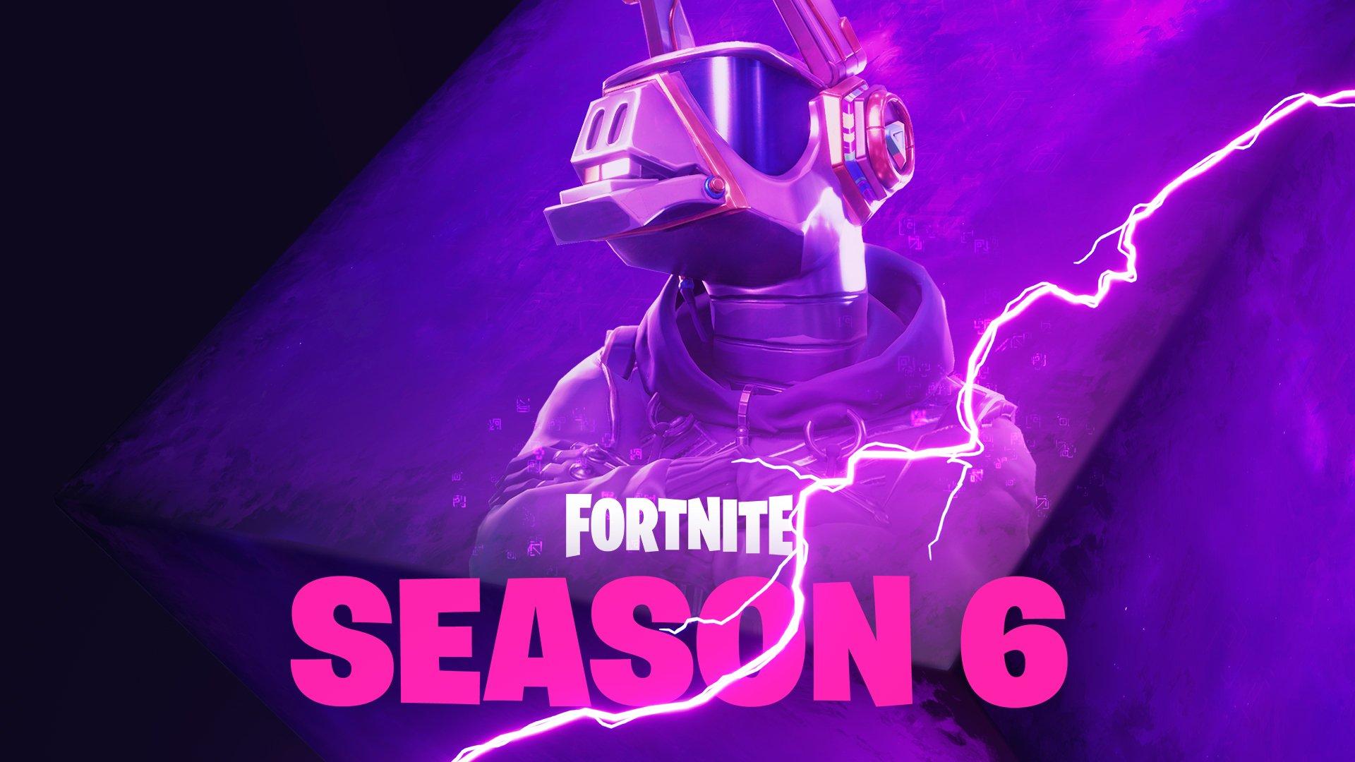 Fortnite Season 6 Teaser 1 - Loot Llama DJ
