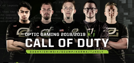 OpTic Gaming 5v5 Roster