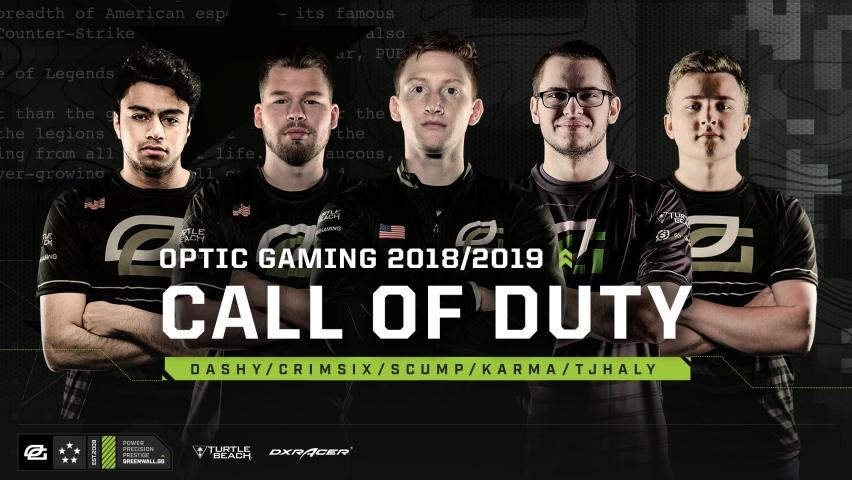 OpTic Gaming 5v5 Roster
