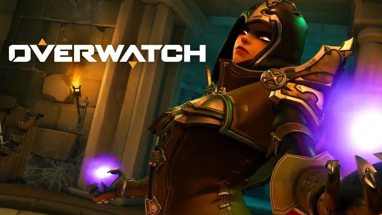 Overwatch Sombra Demon Hunter Skin