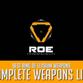 Ring of Elysium Weapons List