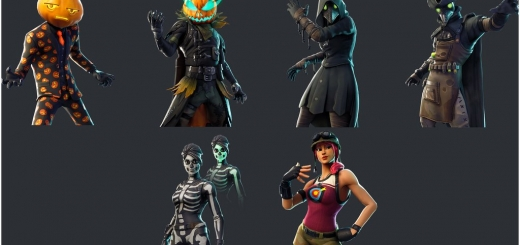 Fortnite Halloween 2018 Leaked Skins