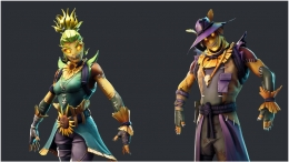 Fortnite Season 6 Data Mined Scarecrow Skins