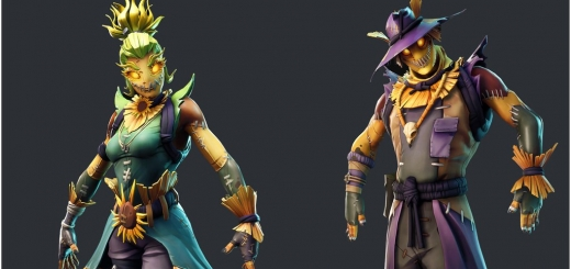 Fortnite Season 6 Data Mined Scarecrow Skins