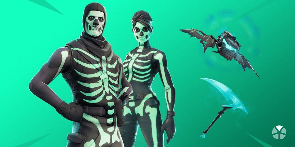 Skull Trooper Halloween Skins