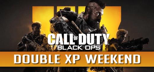 Black Ops 4 Double XP Weekend