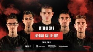 FaZe 5v5 Call of Duty Roster