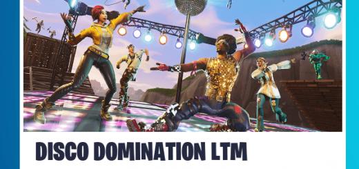 Fortnite Disco Domination New Game Mode