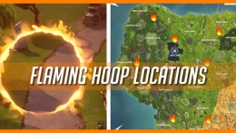 Fortnite Flaming Hoop Map
