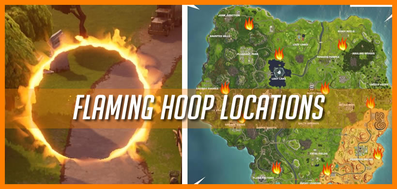 Fortnite Flaming Hoop Map