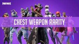 Fortnite Weapon Rarity