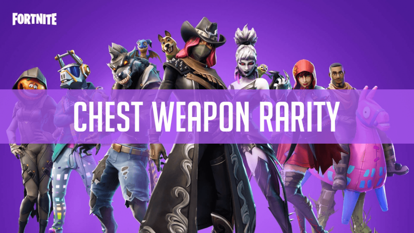 Fortnite Weapon Rarity