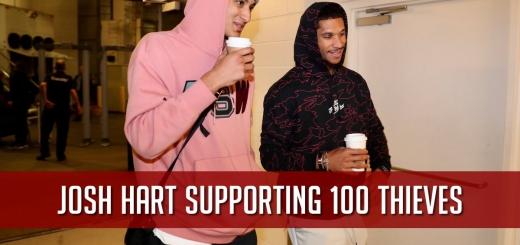 Josh Hart 100 Thieves