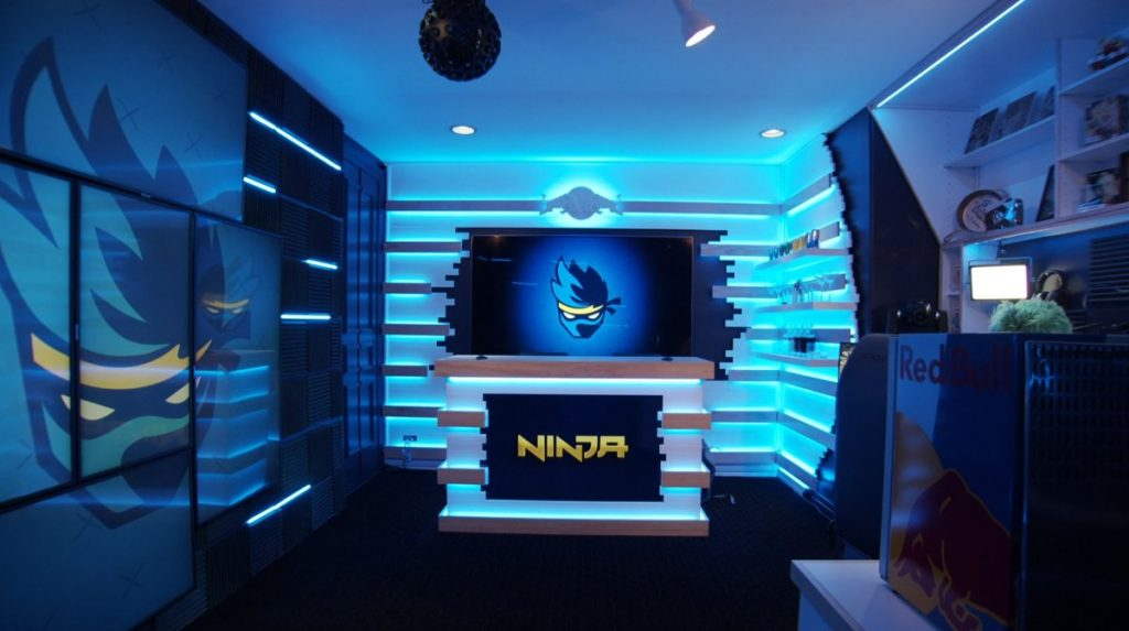Ninja Stream Room Revealed Inspired By Redbull
