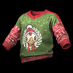 Leaked PUBG Christmas Sweater