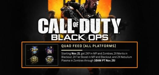 Black Ops 4 Quad Feed Weekend