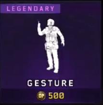 Baller Legendary Gesture Icon