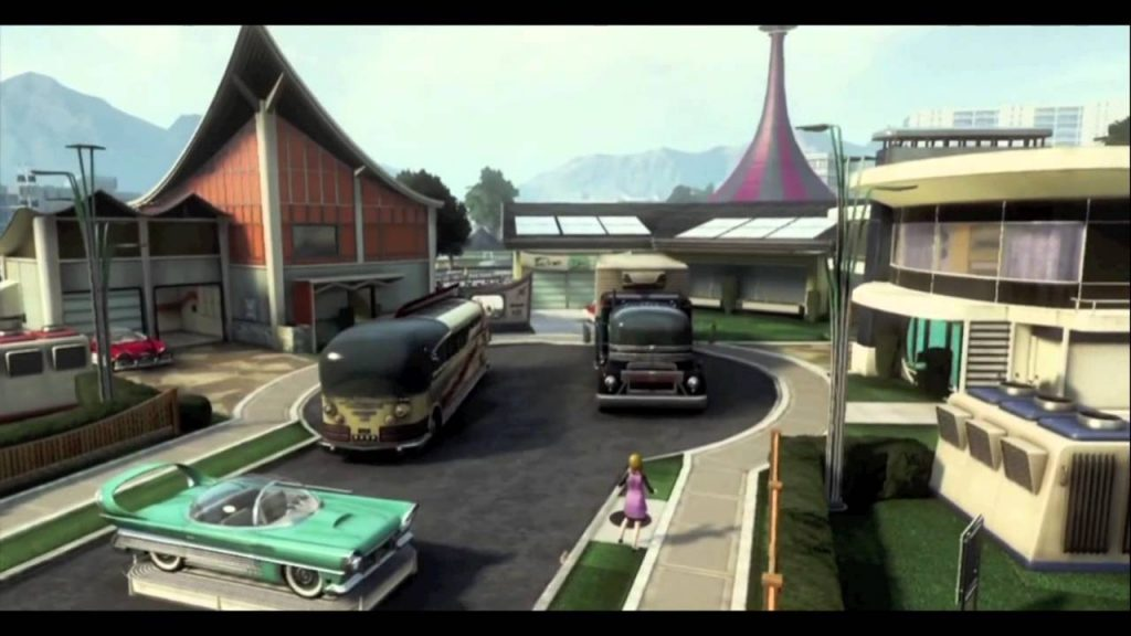 Nuketown Black Ops 2 - Improved Graphics