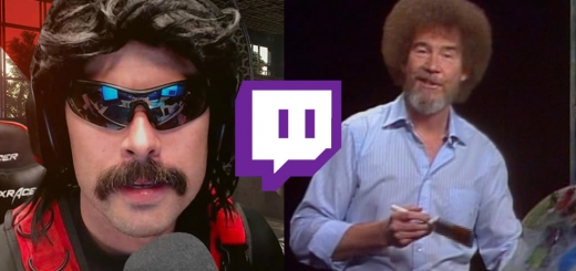 Dr. Disrespect Mad at Twitch about Bob Ross