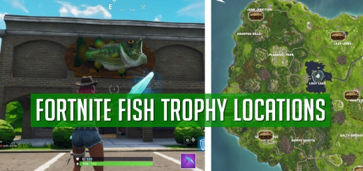 Fortnite Fish Trophies