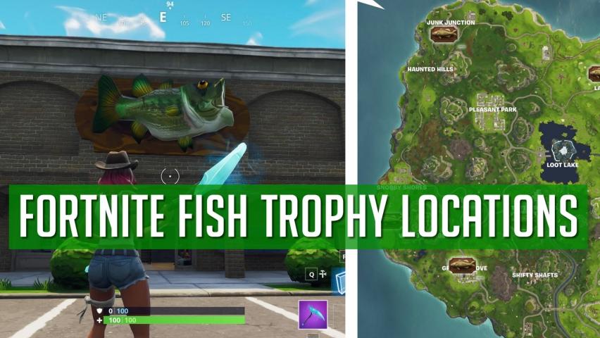 Fortnite Fish Trophies