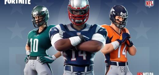 Fortnite NFL skins