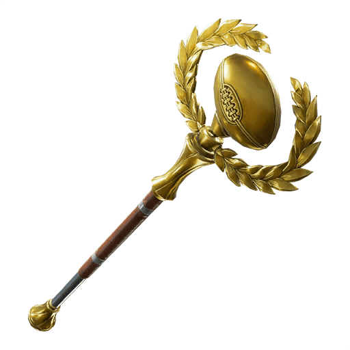 golden-pigskin pickaxe