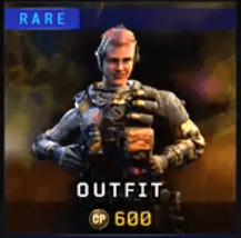 Gold Rare Battery Outfit