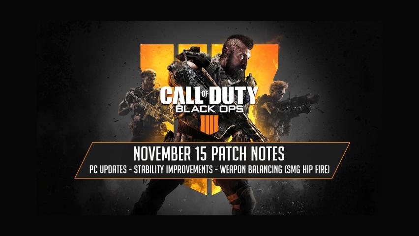 November 15, 2018 Patch Notes