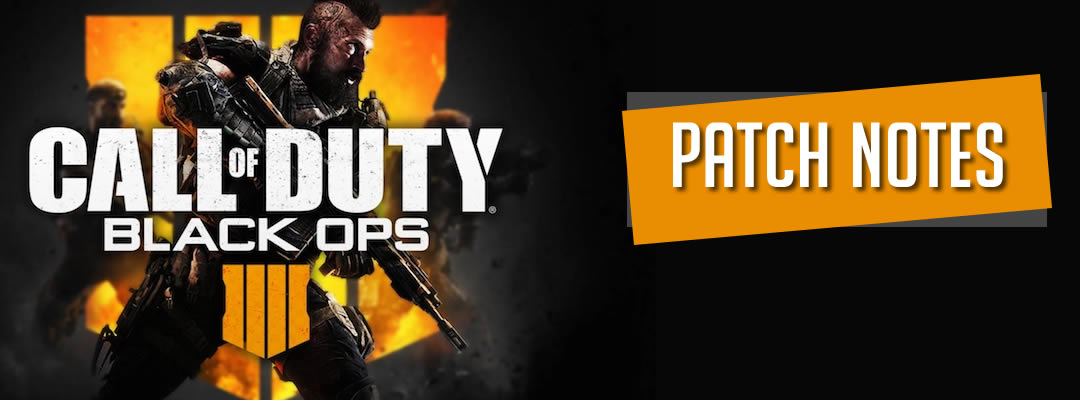 Call of Duty Patch Notes Banner