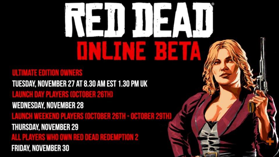 Red Dead Online Release Schedule