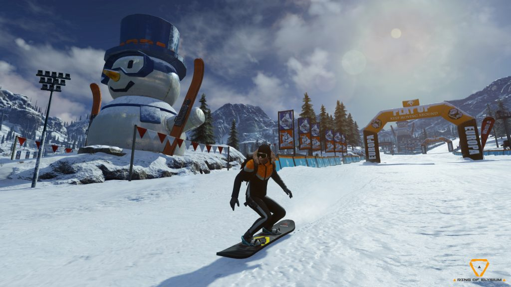 Ring of Elysium Snowboarding Wallpaper