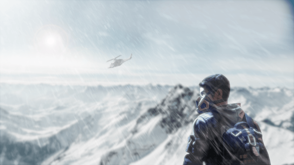 Ring of Elysium Mountain Tops Wallpaper
