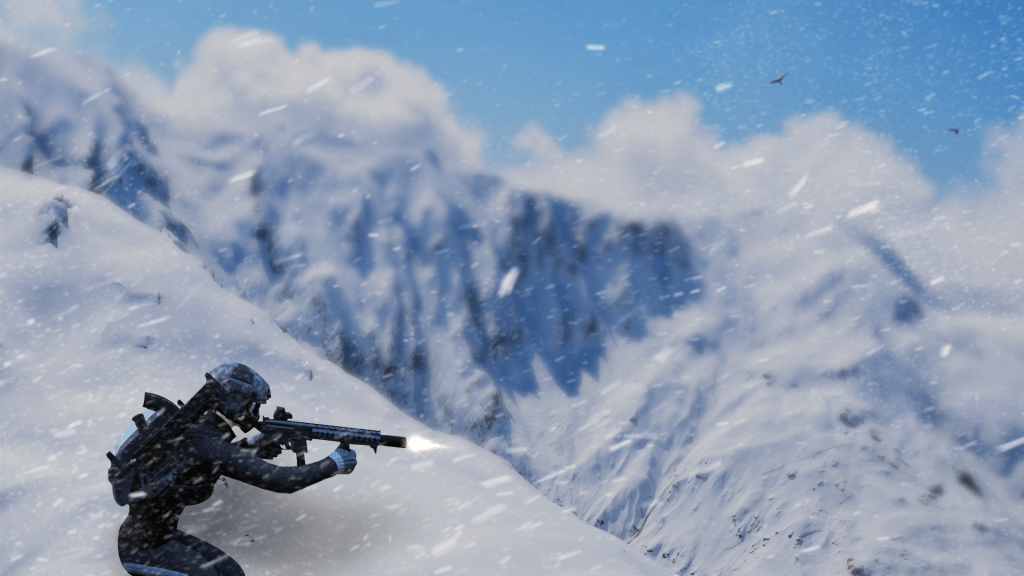 Ring of Elysium Mountain Top Shooting Wallpaper