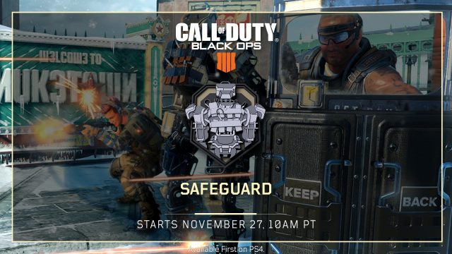 Safeguard Back from Black Ops 3