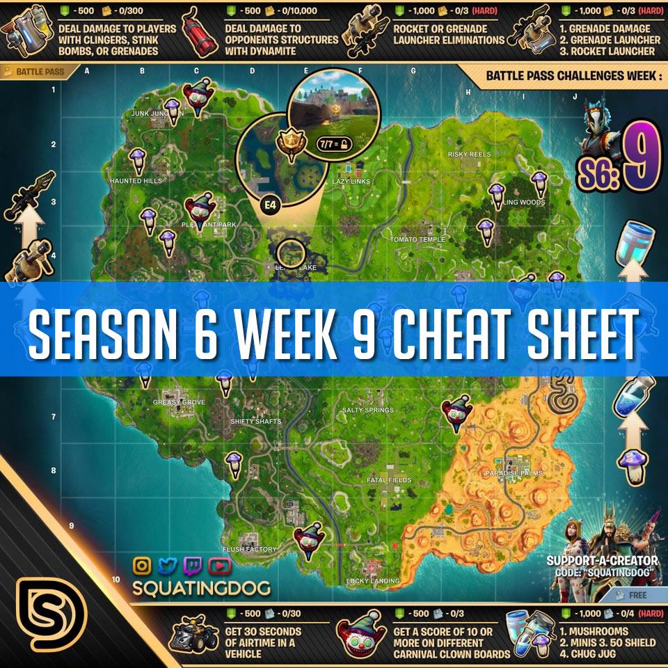 Week 9 Cheat Sheet Cover