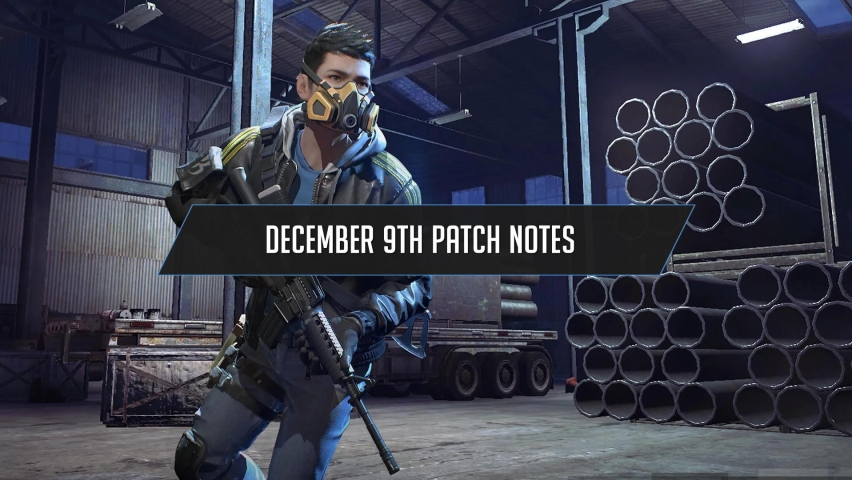 Ring of Elysium December 9 Patch Notes