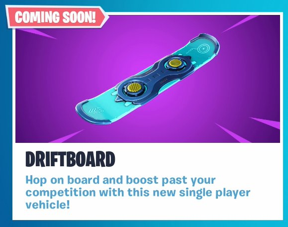 Driftboard Announcement
