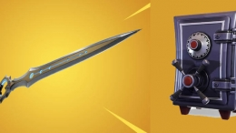 Fortnite Infinity Sword Vaulted
