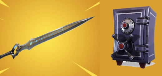 Fortnite Infinity Sword Vaulted