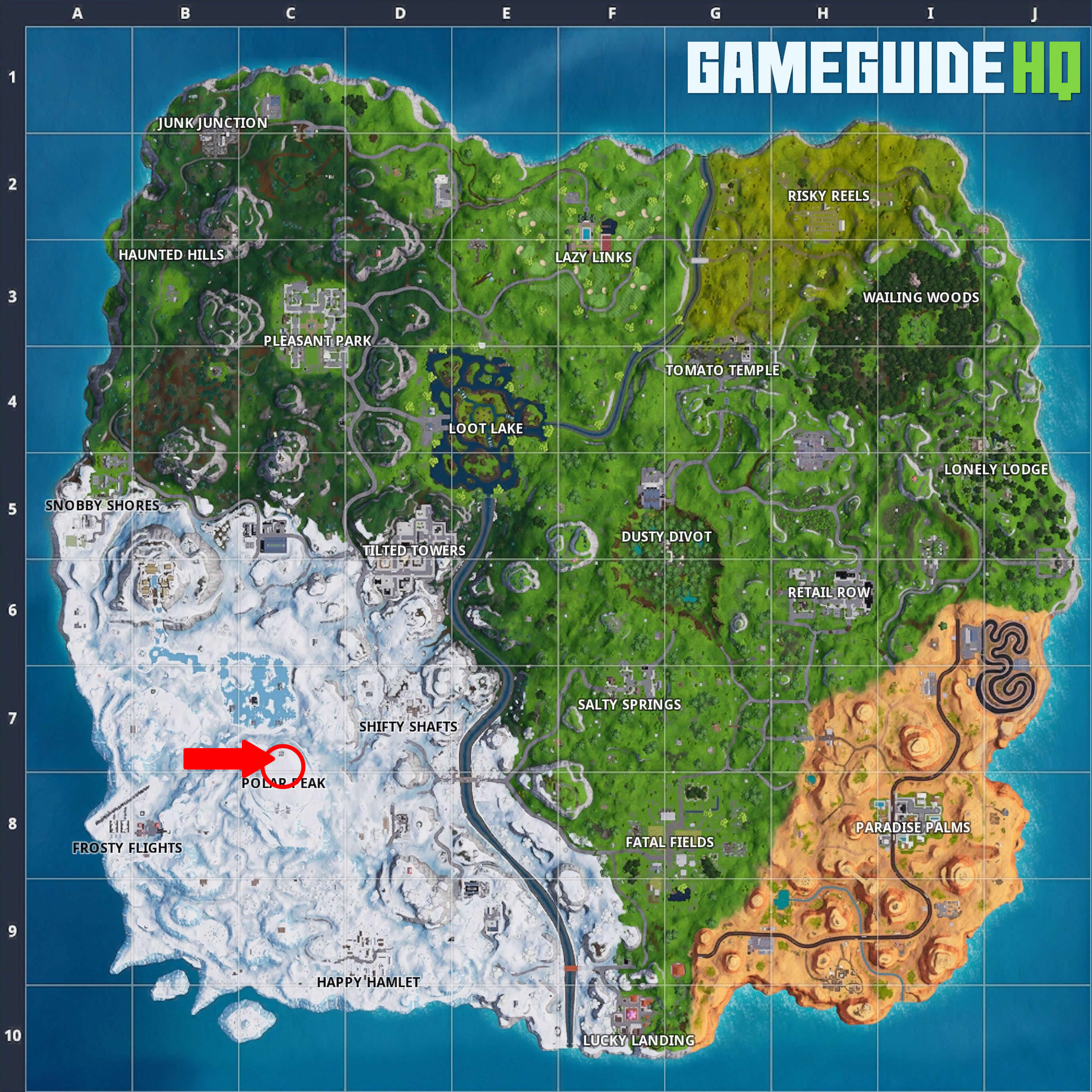 Fortnite Infinity Sword Map