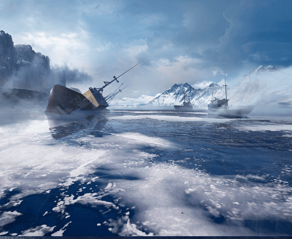 Wrecked Ships off Vikendi Shores