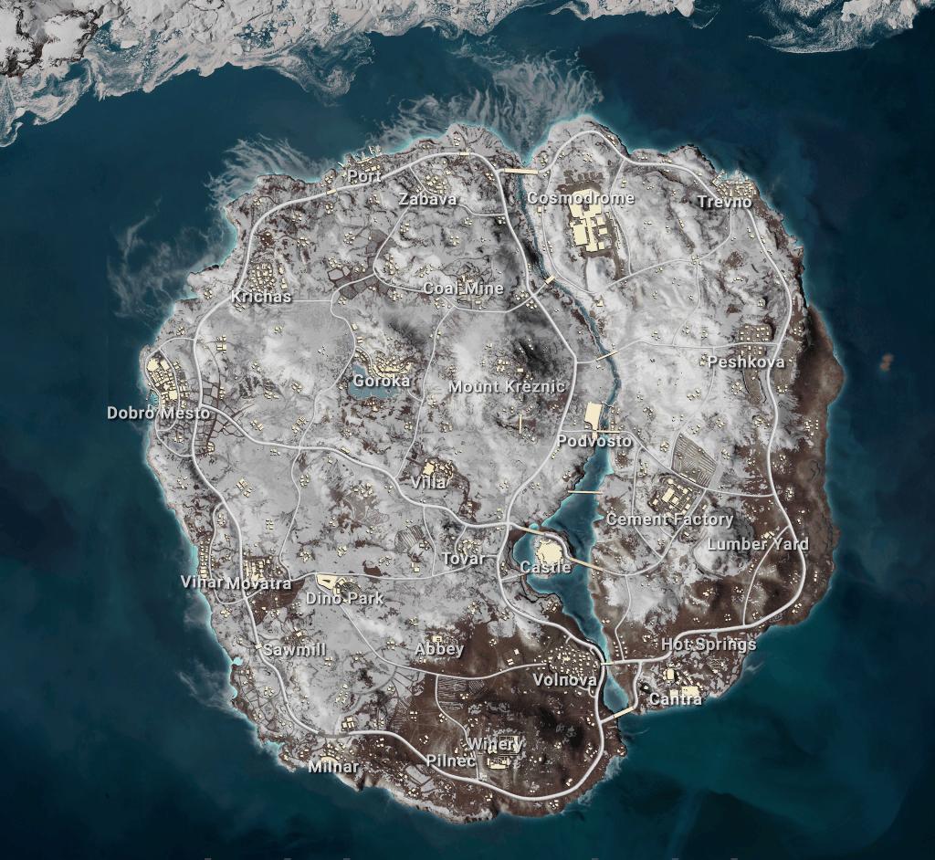 Vikendi Mini Map